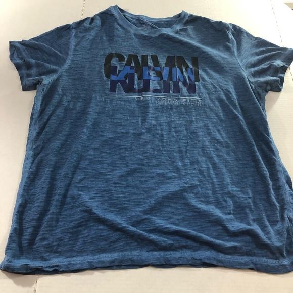 09635b05d Calvin Klein Shirts | Classic Fit Short Sleeve Tshirt Xl | Poshmark